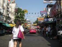 Bangkok street view.