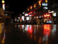 Pub Street in downtown Siem Reap.