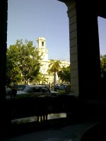Havana plaza.