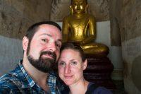 Starting to explore Bagan, Myanmar.