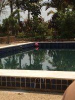 The pool at the Princess Garden Hotel in Nyaungshwe, Myanmar.