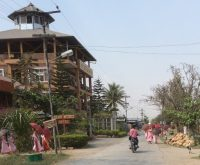A procession in Nyaungshwe, Myanmar.