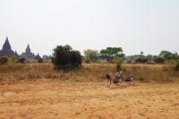 Our bicycle transport in Bagan, Myanmar.