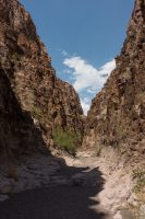 Closed Canyon in Big Bend Ranch State Park.