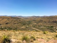 View from Fort Davis State Park scenic drive.