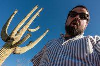 Saguaro selfie.