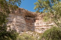 Cliff dwelling.