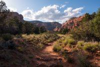 Entering Fay Canyon.