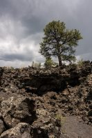 A'a Trail in Sunset Crater Volcano National Monument.