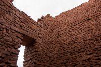 Wukoki pueblo walls.