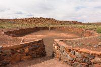 Wupatki pueblo complex.