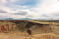 View from the Citadel pueblo.