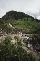 Views along the Going to the Sun Road, Glacier National Park, Montana, United States.