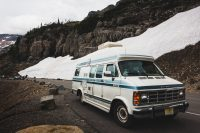 Camper Dan is loving the Going to the Sun Road, Glacier National Park, Montana, United States.