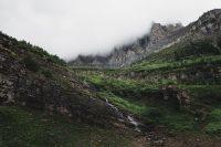 Highline Trail, Glacier National Park, Montana, United States.
