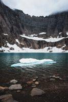 One the best hikes ever. Iceberg Lake hike, Glacier National Park, Montana, United States.