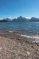 Views of Jackson Lake from the Lakeshore Trail.