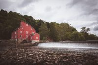The Red Mill Barn Museum in nearby Clinton, NJ is located in an old mill that was operational from 1810-1928.