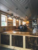 Fox Farm Brewery tap room.