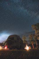 Camper Dan enjoys dark sky parks as much as we do.