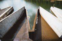 The dam at Lyman Run State Park.
