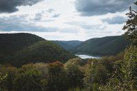 A viewpoint at Lyman Run State Park.