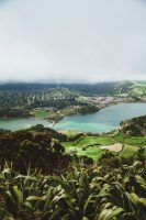 "São Miguel is known as ""The Green Island"", a name you won't question after a visit.  Another view of Lagoa das Sete Cidades illustrates why."