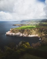 Pretty much every place you go along the coast of São Miguel is another beautiful, dramatic view.