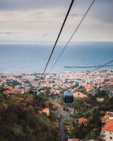 Teleférico do Funchal (center of Funcal to Monte).