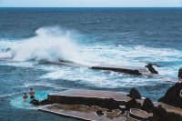 Take a dip in the saltwater pools in Porto Moniz.