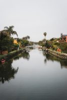 Venice Canal Historic District, Los Angeles, California.