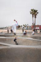 Venice Beach Skatepark, Los Angeles, California.