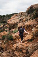 Los Peñasquitos Canyon Trail in Los Peñasquitos Canyon Preserve, San Diego, California