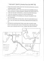 """Directions, map, and instructions for """"The Slot"""" hike in Anza-Borrego Desert State Park."""