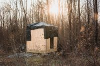 Check out the beginning of tiny house construction.