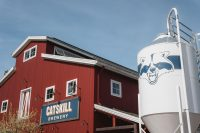 Head to town to enjoy a beer at the Catskill Brewery.