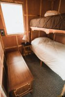 A separate room in the Ravens Nest is home to bunk-beds.