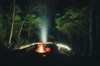 Magic fire ring.