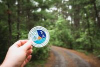 Goodbye Pine Barrens Post. We love your sticker!