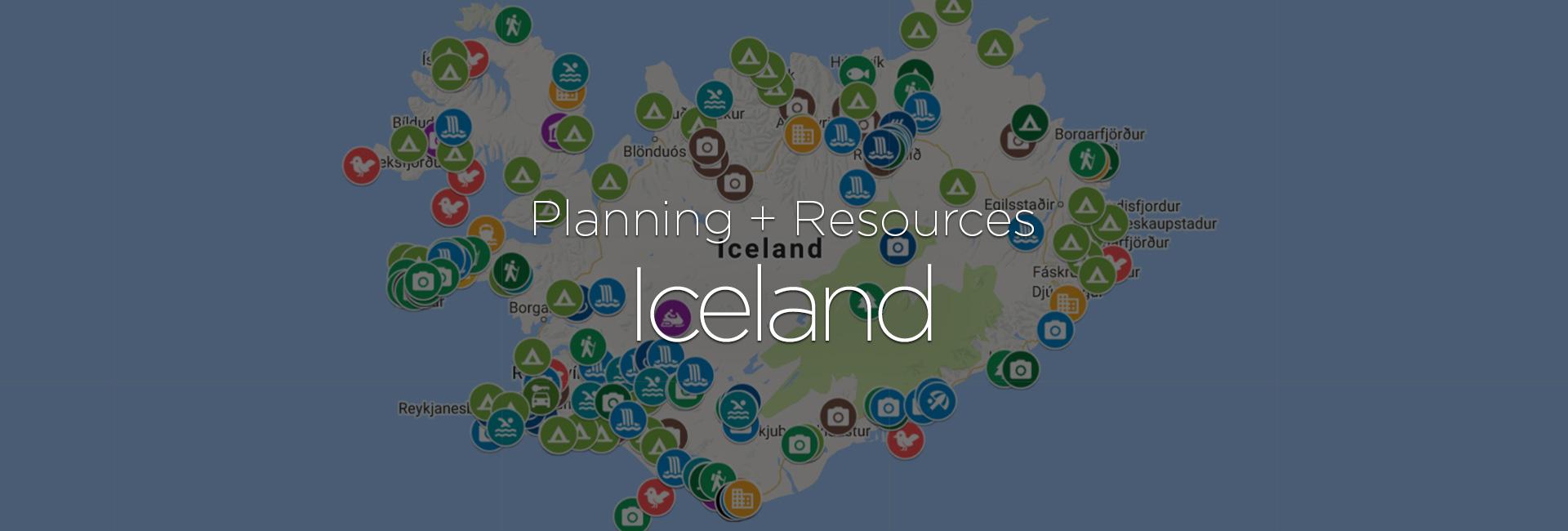 Iceland Trip Planning + Resources