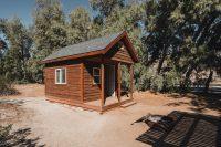 Our cabin at Tamarisk Grove Campground, Anza-Borrego Desert State Park, California