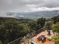The view from Rifugio Gorropu