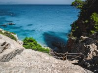 The hike down to Cala Golortitze
