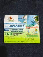 Cala Golortitze entry ticket
