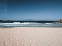The beach in Santa Teresa Gallura