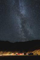 Night skies at Þakgil Campground