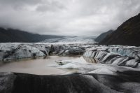IceGuides kayak tour in Heinabergslon
