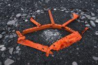 Remnants of the ship wreck on Djúpalónssandur Beach