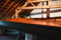 The coolship at Cantillon Brewery, Brussels, Belgium