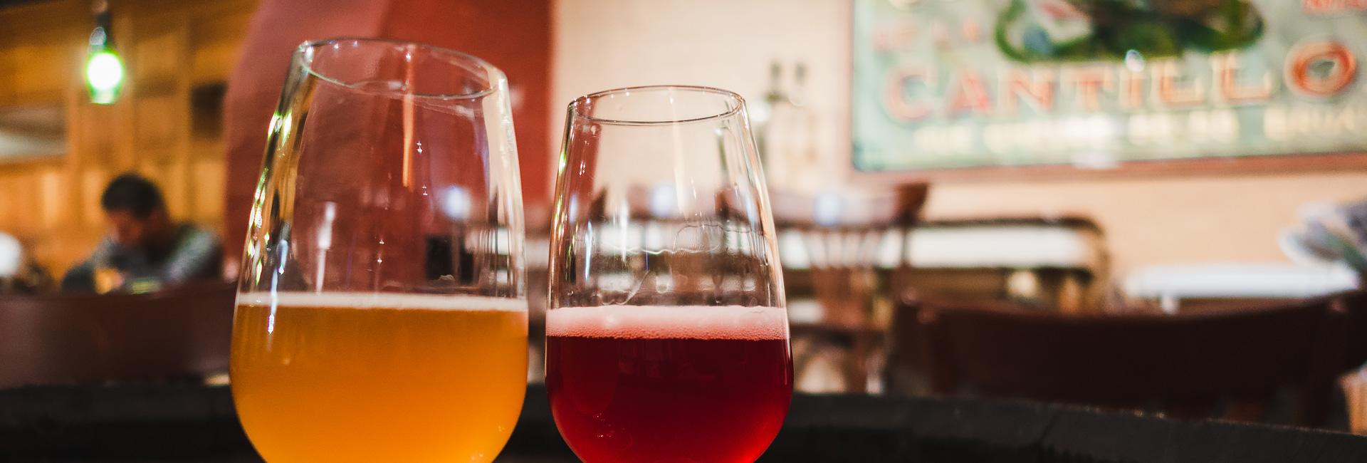 Beer in Brussels, Belgium